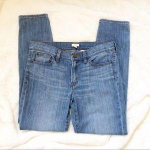 J Crew Skinny Stretch Jeans Light Wash 27